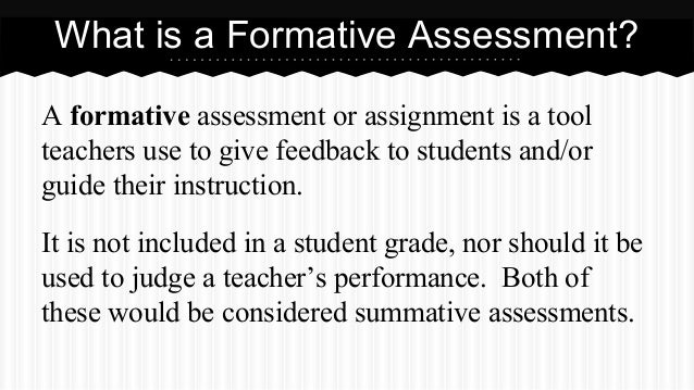 Formative Assessments For Any Subject