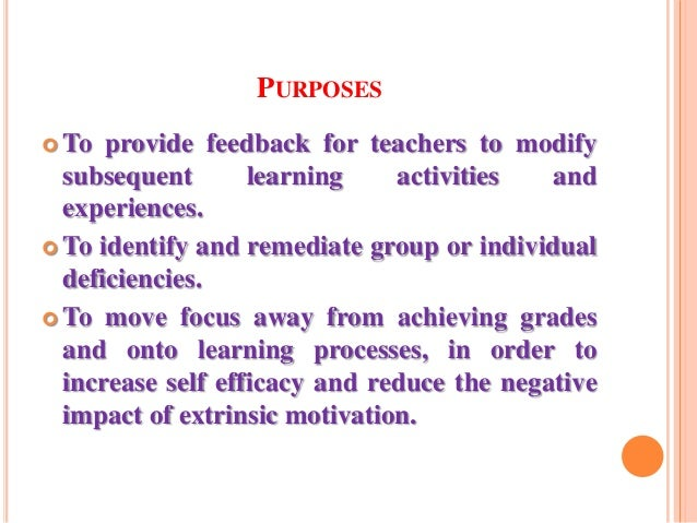 Formative Evaluation
