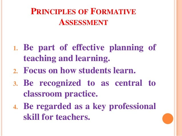 relationship between formative evaluation and summative