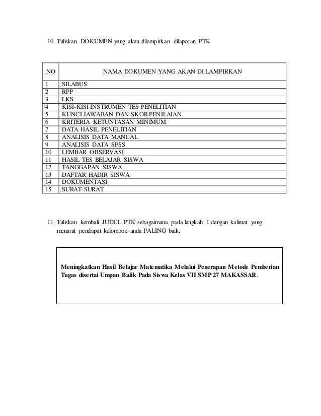 Format latihan_menyusun_pra_usulan_ptk LENGKAP