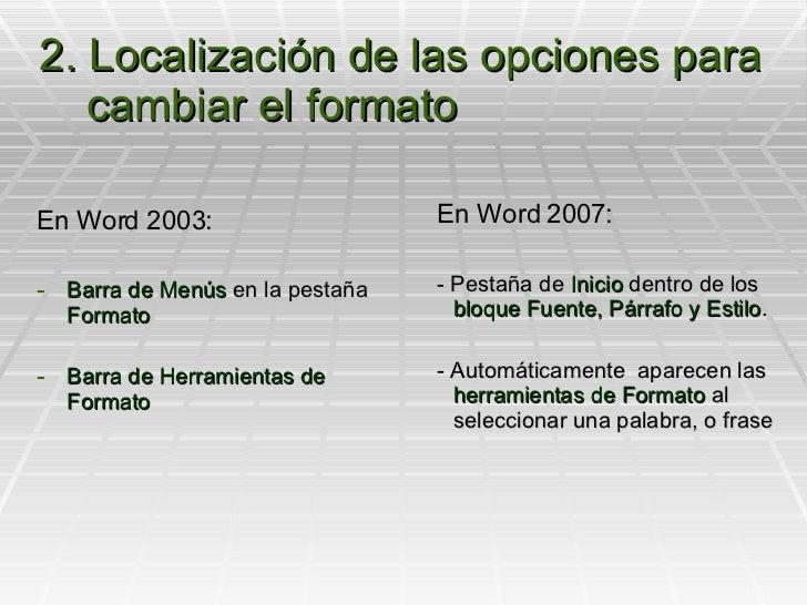 Formato de texto Slide 3