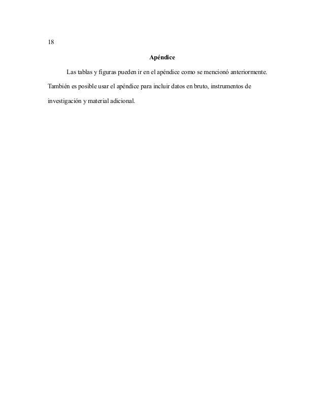 Plantilla para Tesis con Normas APA, Formato APA