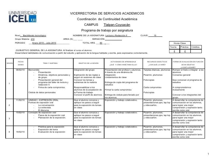 VICERRECTORIA DE SERVICIOS ACADEMICOS                                                                         Coordinación...