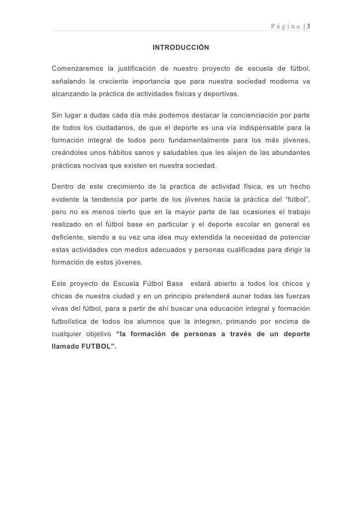 Formato club escuela deportiva 1 - Proyecto club deportivo ...