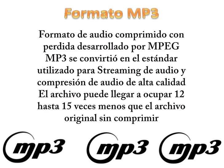 Formato de audio diego Slide 3