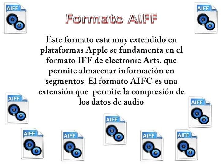 Formato de audio diego