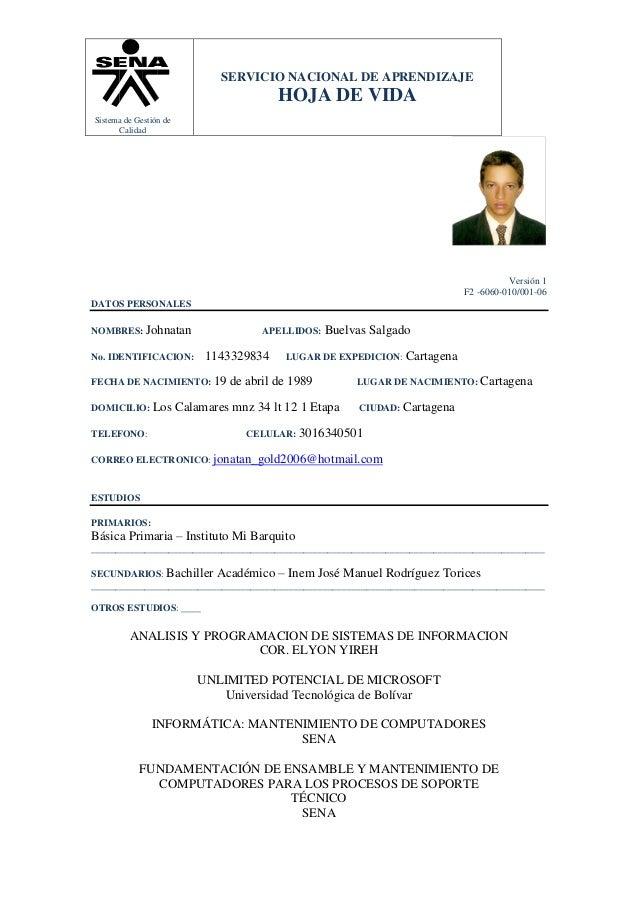 Hoja Vida 2013 Juan Sebastian Hoyos Sokolvineyard Com
