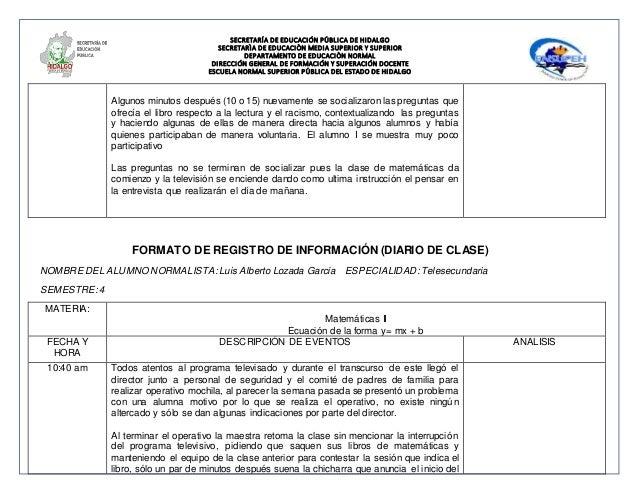 Formato de registro de información09 marzo2015