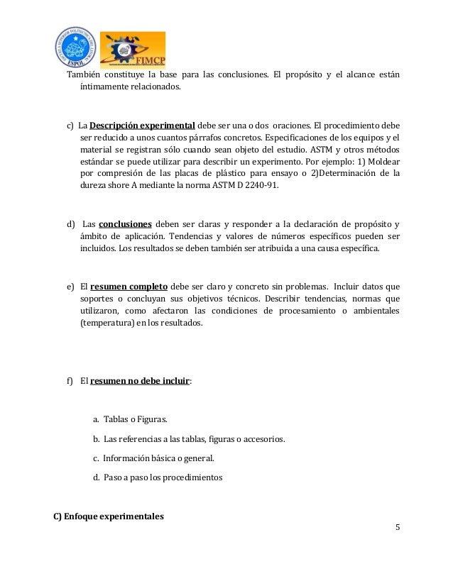 Formato e instructivo del informe de laboratorio