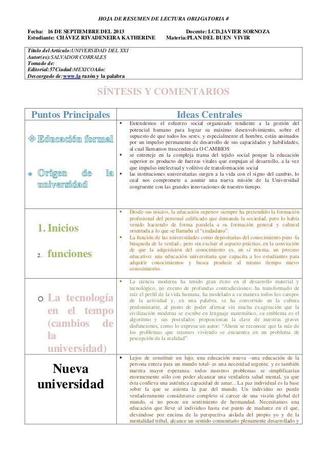 Formato hoja de resumen de la mksion de la universiada del siglo xxi