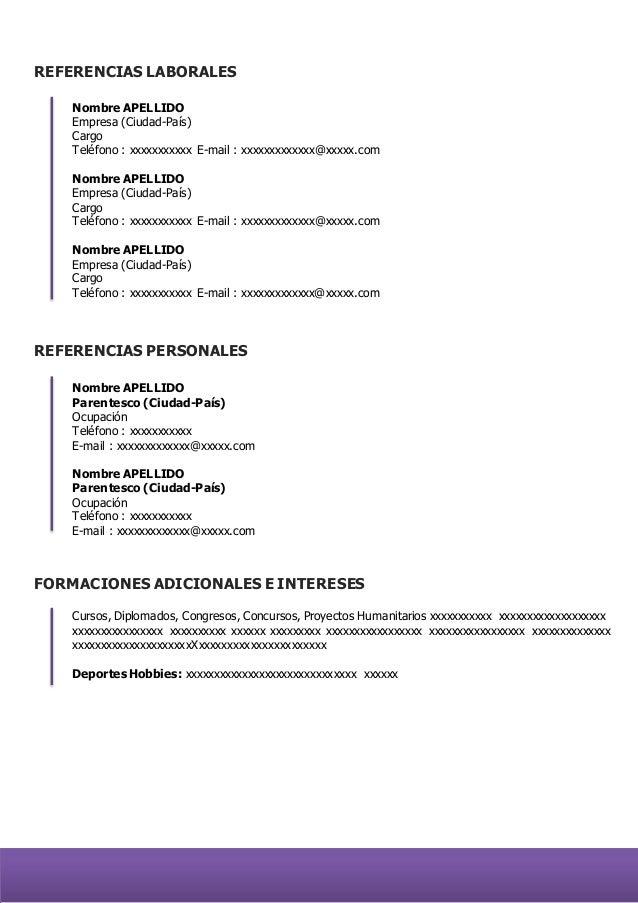 Formatos De Certificaciones Personales