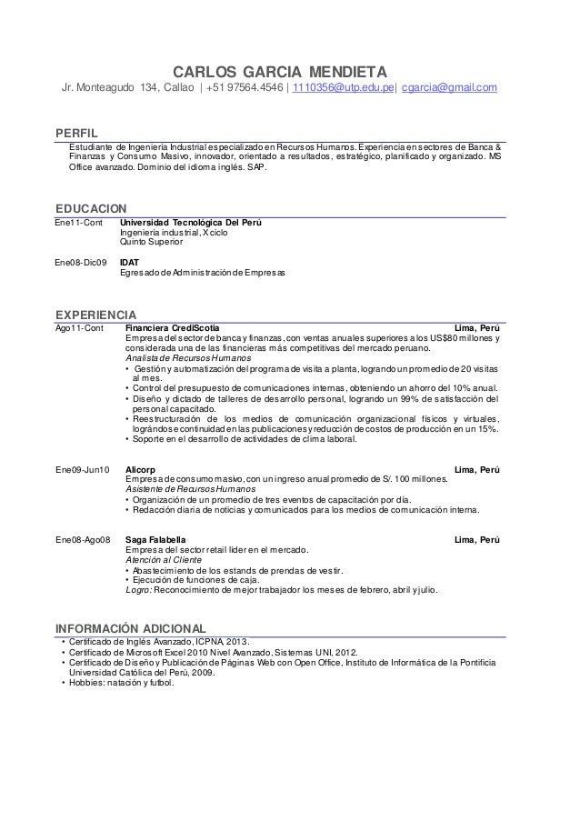 Formatos De Curriculum En Ingles April Mydearest Co