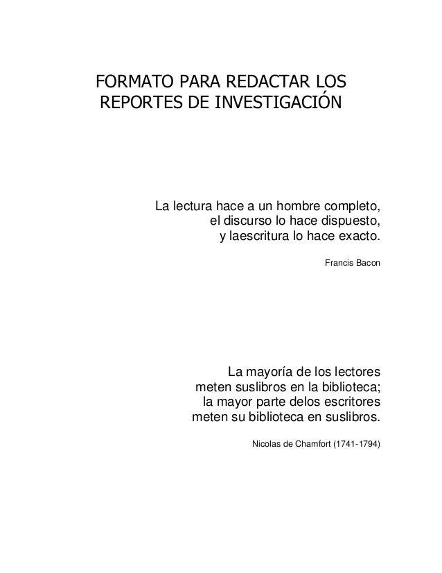 formato para redactar los reportes de investigación 1