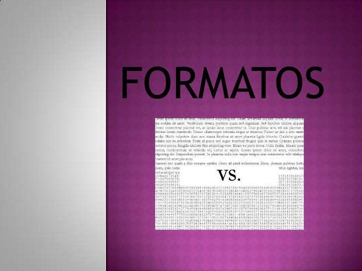 FORMATOS <br />