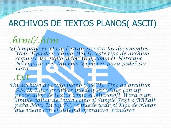 Formatos De Archivo Y Compresores