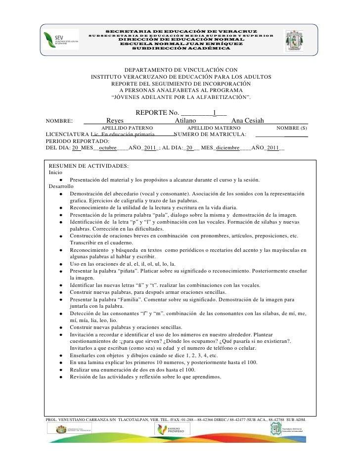SECRETARIA DE EDUCACIÓN DE VERACRUZ                   SUBSECRETARIA DE EDUCACIÓN MEDIA SUPERIOR Y SUPERIOR                ...