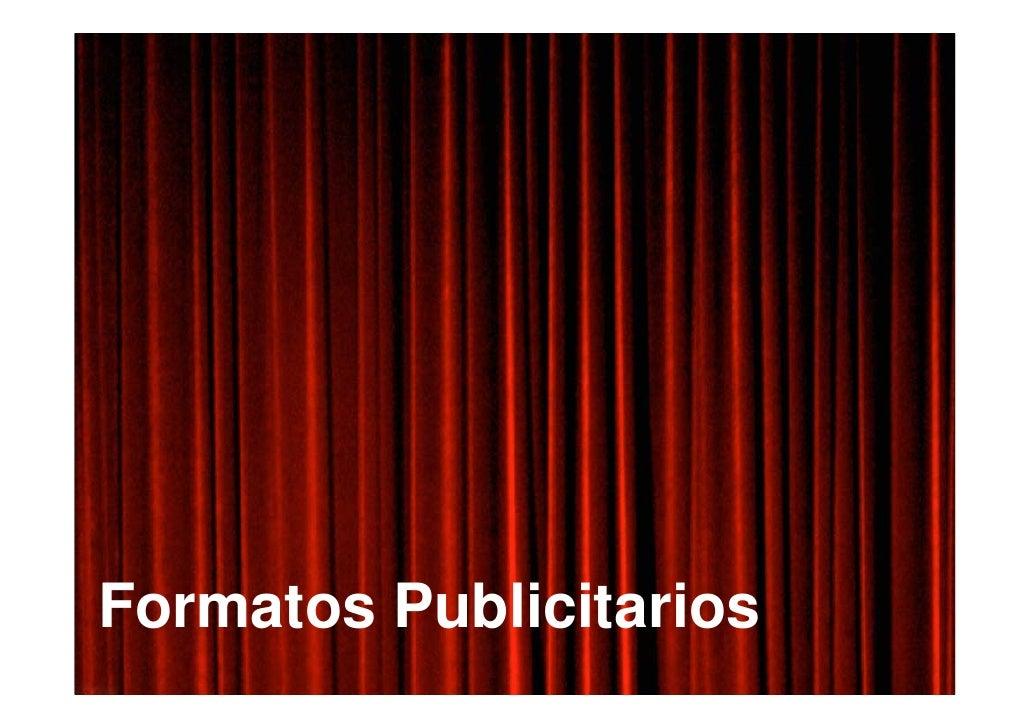 Formatos Publicitarios