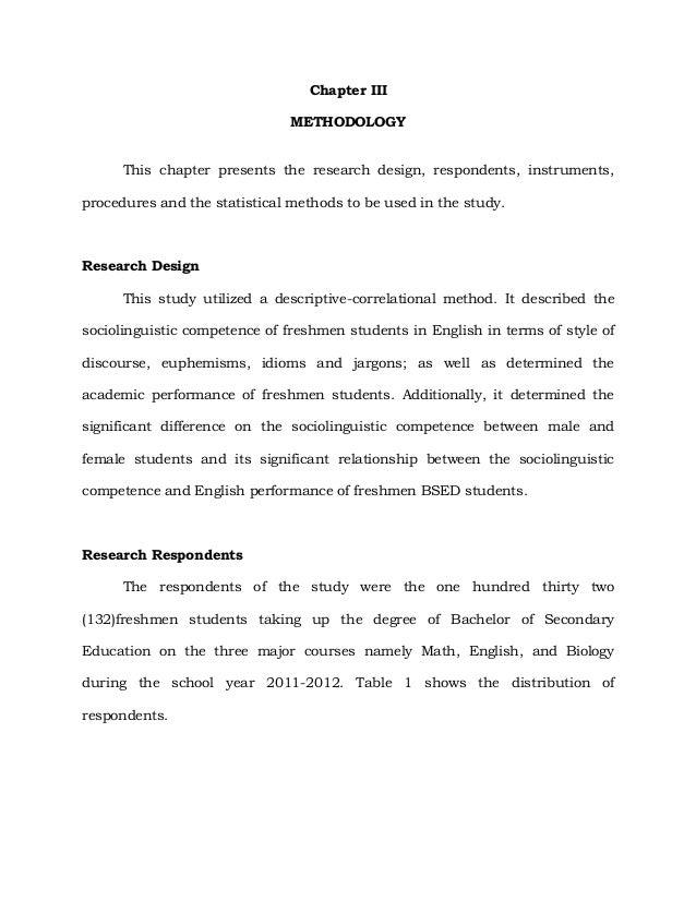 Dissertation study design