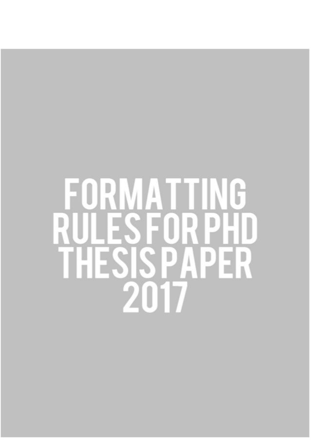 Required Sections, Guidelines, and Suggestions : Graduate School