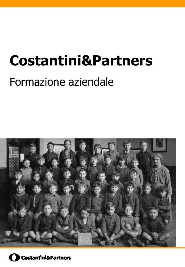 Costantini&PartnersFormazione aziendale