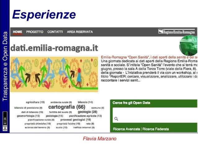 TrasparenzaeOpenData Flavia Marzano Esperienze