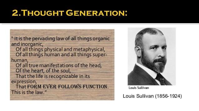 Louis sullivan form follows function essay help