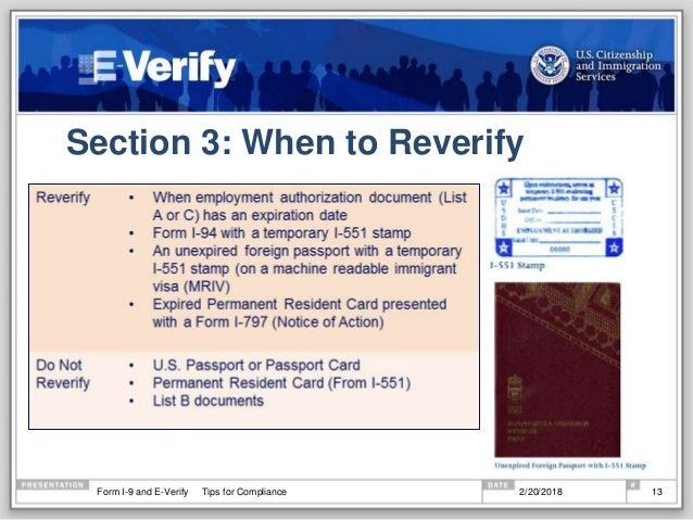 Whats New In 2018 With Form I 9 And E Verify
