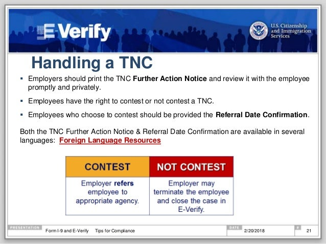 What's new in 2018 with Form i-9 and E-verify