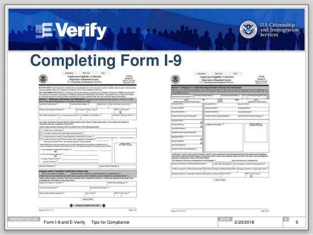 E Verify Program >> What S New In 2018 With Form I 9 And E Verify
