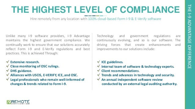 form i-9 guidelines  Form I-16 compliance for remote hiring