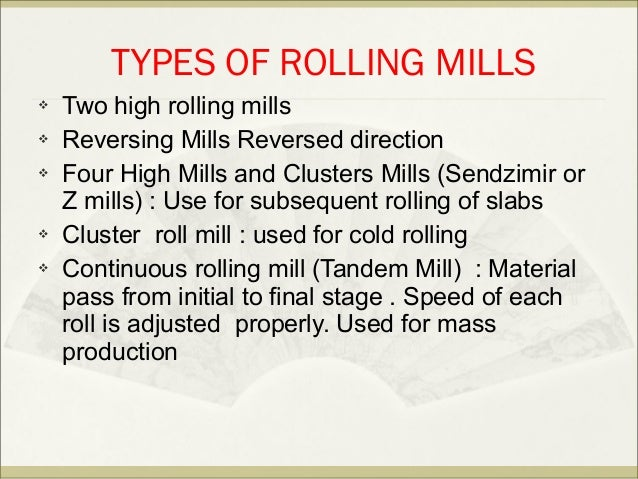 Forming and rolling class 25 mar ppt