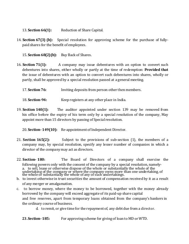Form MGT-14 Requires Filing For Resolutions As per Companies Act 20…