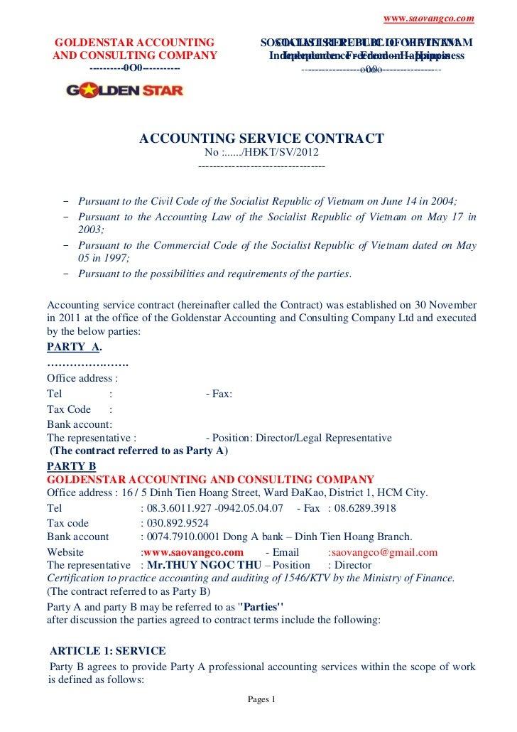www.saovangco.com GOLDENSTAR ACCOUNTING                              SOCIALIST REPUBLIC OFOF VIETNAM                      ...
