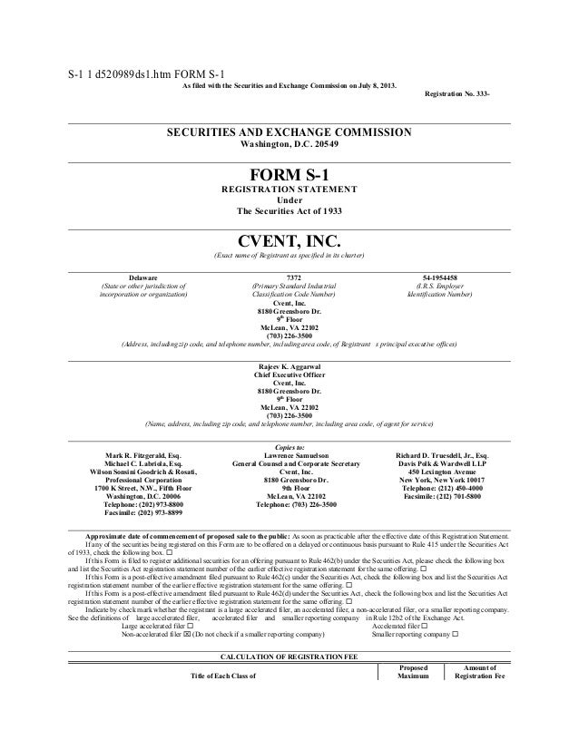 S-1 1 d520989ds1.htm FORM S-1 As filed with the Securities and Exchange Commission on July 8, 2013. Registration No. 333- ...