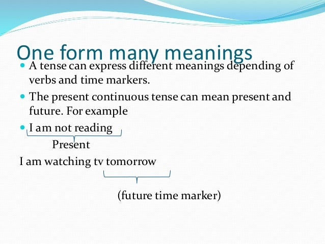 Forms and meaning 4