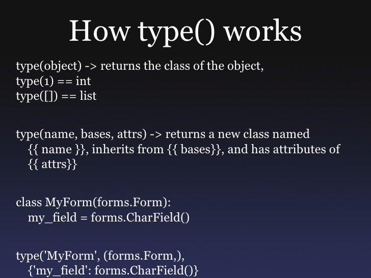 class MutlipleFormBase(object):     def __init__(self, data, files):         self.forms = [form_class(data, files, prefix=...