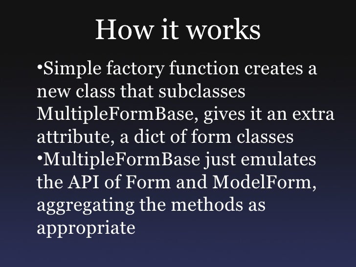 class UserForm(forms.ModelForm):     class Meta:         model = User   class ProfileForm(forms.ModelForm):     class Meta...