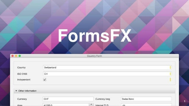 FormsFX 1