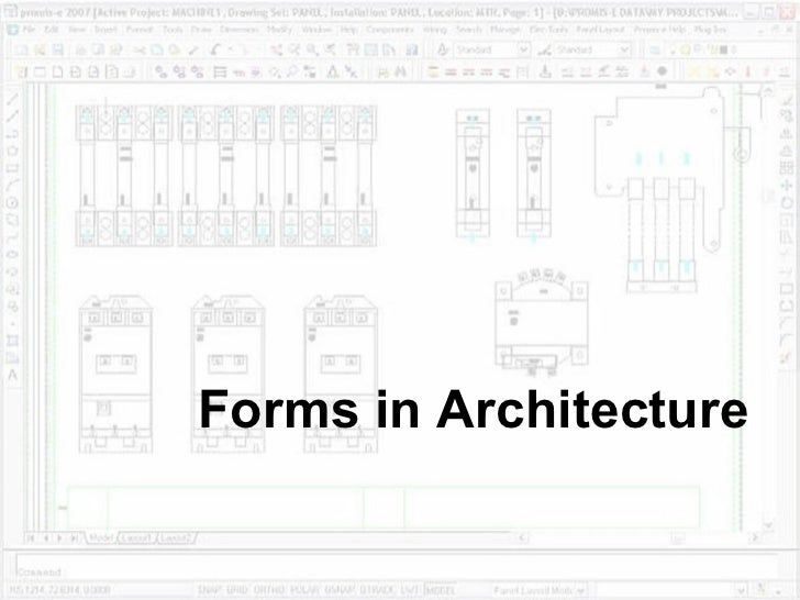 Forms in Architecture