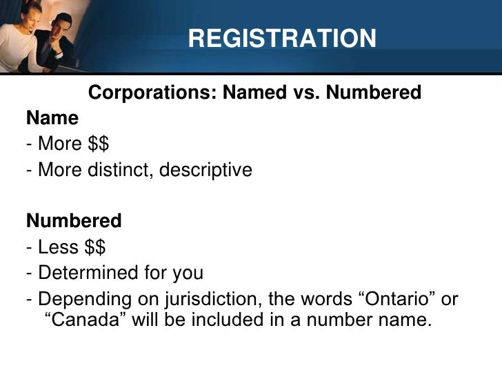 changing articles of incorporation ontario