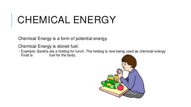 Energy Is Stored In Food As