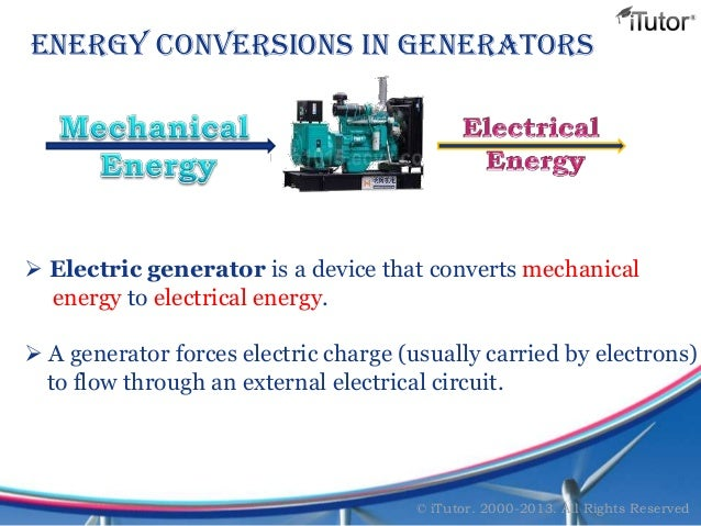 mechanical to electrical energy conversion pdf
