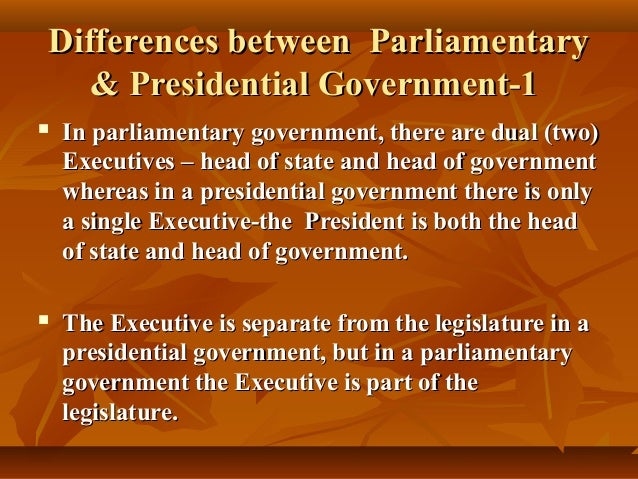 Presidential Form of Government essay