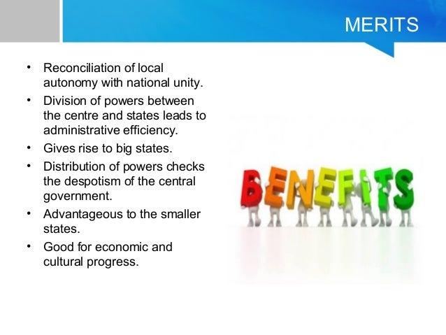 merits of federalism