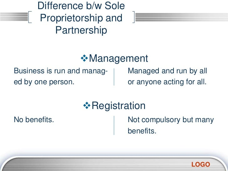 Forms of partnership & difference b