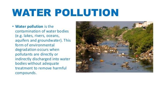 Forms of pollution