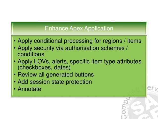 oracle application express export workspace