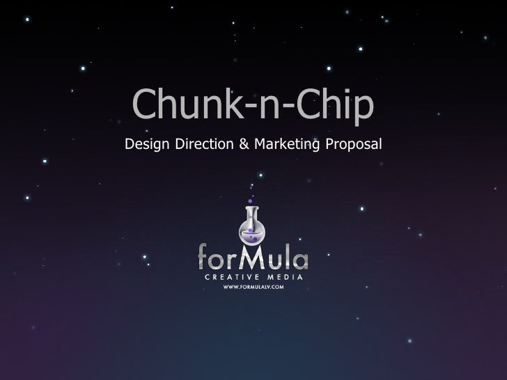 Chunk-n-Chip Design Direction & Marketing Proposal