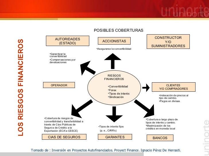 LOS RIESGOS FINANCIEROS Tomado de : Inversión en Proyectos Autofinanciados. Proyect Finance. Ignacio Pérez De Herrasti. PO...