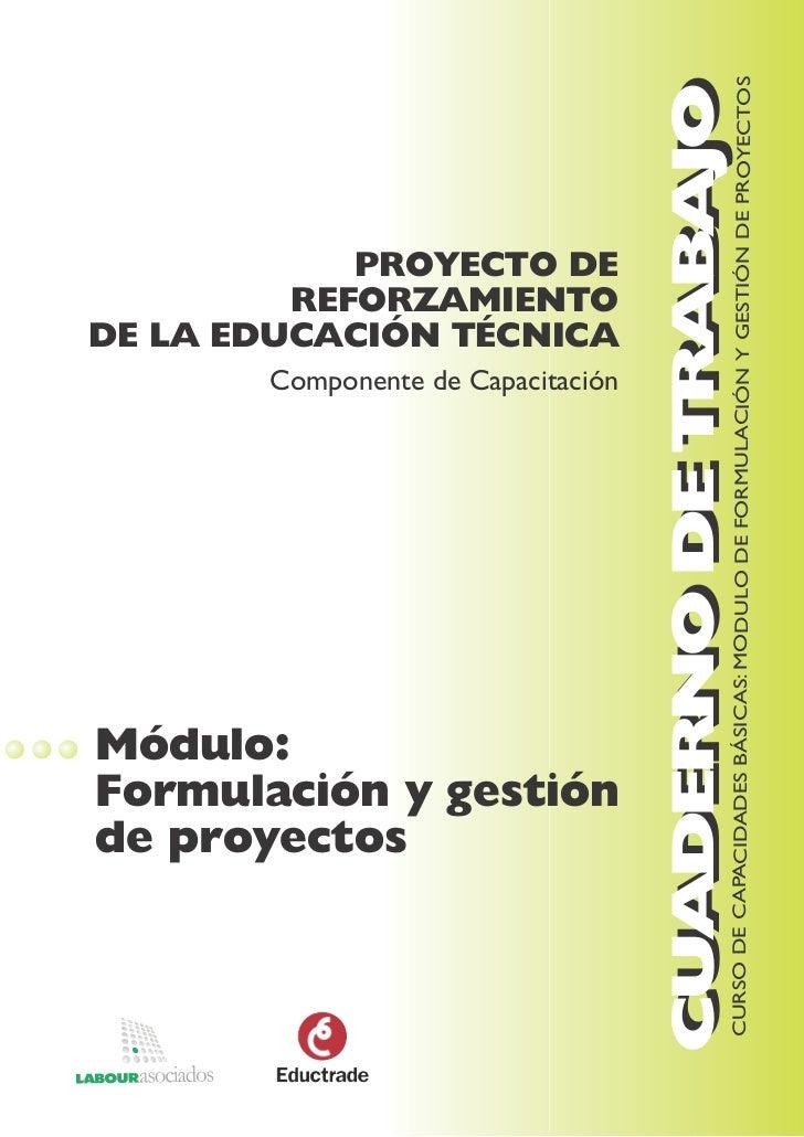 CUADERNO DE TRABAJO                                                      CURSO DE CAPACIDADES BÁSICAS: MODULO DE FORMULACI...